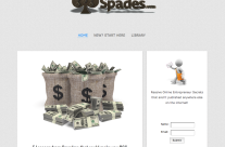 Nine of Spades Website